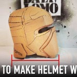 Tips: How to Fix Cardboard Helmet – Add Depth | Dali DIY