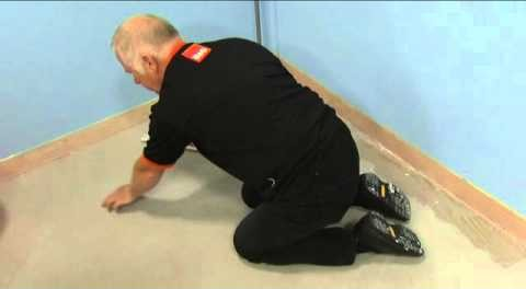 Tips laying floor tile – How to install floor tile. Step 1