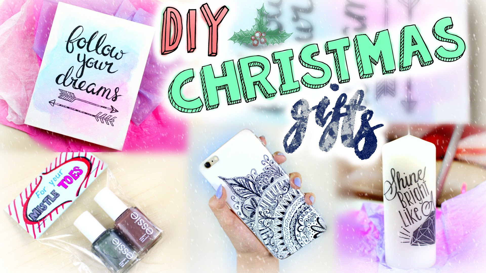 Diy easy christmas gifts last minute presents for for Easy diy birthday gifts