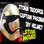 How to DiY Storm Trooper Captain Phasma Helmet Star Wars The Force Awakens