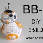 How to Make Star Wars BB-8/ 3D Printing Pen Creations DIY Tutorial by Creative World