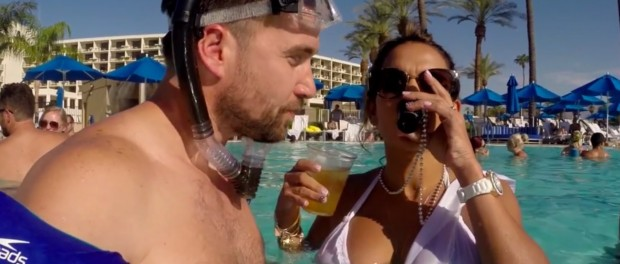 How to Sneak Into a Hotel Pool Party (Pool Hand Luke)