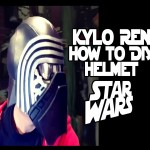 Kylo Ren Star Wars Cosplay Costume How to DiY Helmet