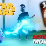 Star Wars – Action Movie FX App – How to create your own Star Wars scenes – DIY Toys Juguestes BB-8