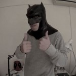 #114: BVS Batman Mask Part 3 – Cardboard Fake Leather & Zipper | Costume Prop | How To | Dali DIY