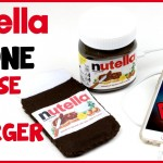 DIY Crafts: NUTELLA Portable Phone Charger & Phone Case – Easy & Cool Nutella DIYs