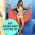 DIY Victoria's Secret #Swimsuit Cover-Up { No Sewing }