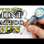 How To Make Mini Tattoo Gun!