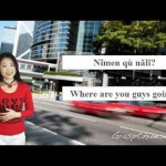 Learn Chinese: Lesson 5 – Taxi to the Hotel