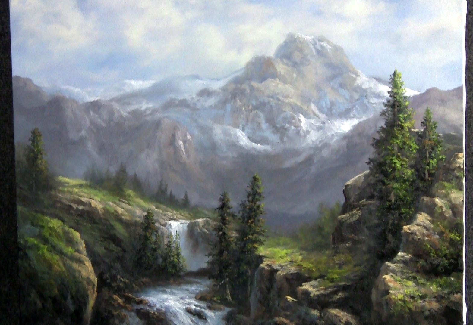 Paint With Kevin Hill Vast Sunlit Valley Diy Fyi