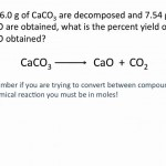 Theoretical, Actual and Percent Yield Problems – Chemistry Tutorial