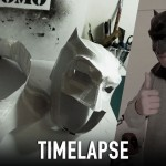 Timelapse – Making BvS Batman Mask | Costume Prop | Dali DIY