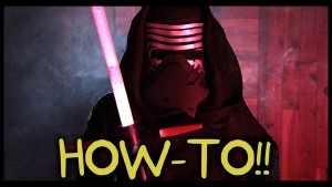 Make Your Own Kylo Ren Lightsaber and Costume! – Homemade How-to!