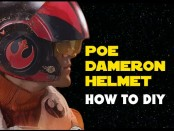 Poe Dameron Helmet On A Budget – How to DIY