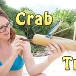 How To Catch A Crab In A Bamboo Trap (Tropical Island 9 of 14)
