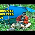 Your Best Survival / Bug Out Shelter Option – TARPS – Here's Why! Two Easy Setups