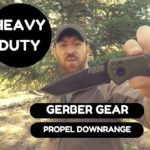 Heavy Duty! Gerber Auto Propel Downrange Knife